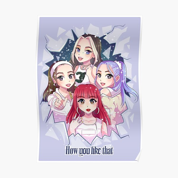 BLACKPINK How You Like That (ice version) Póster