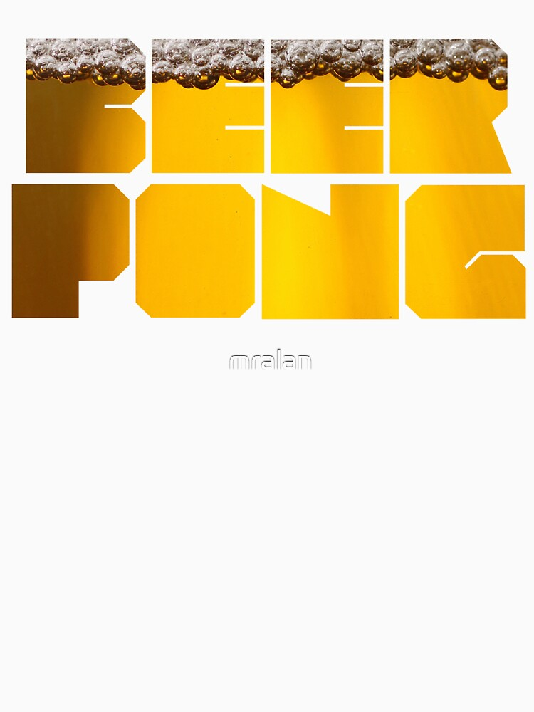 Beer Pong by mralan