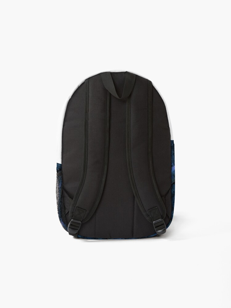 Alternate view of Psychedelic Bearded Dragon Pattern Backpack