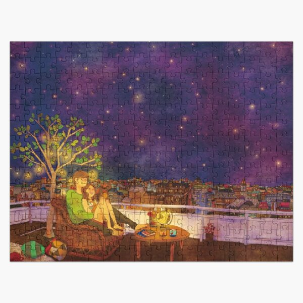 Stargazing Jigsaw Puzzle