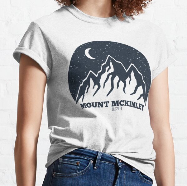 Mount McKinley Hiking And Camping Classic T-Shirt