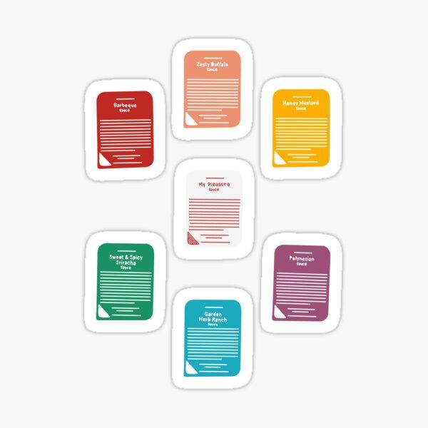 Chick-fil-A Sauces Sticker