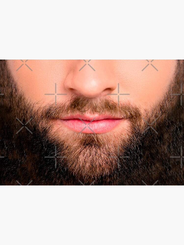Handsome beard man mask (realistic face) by munizz