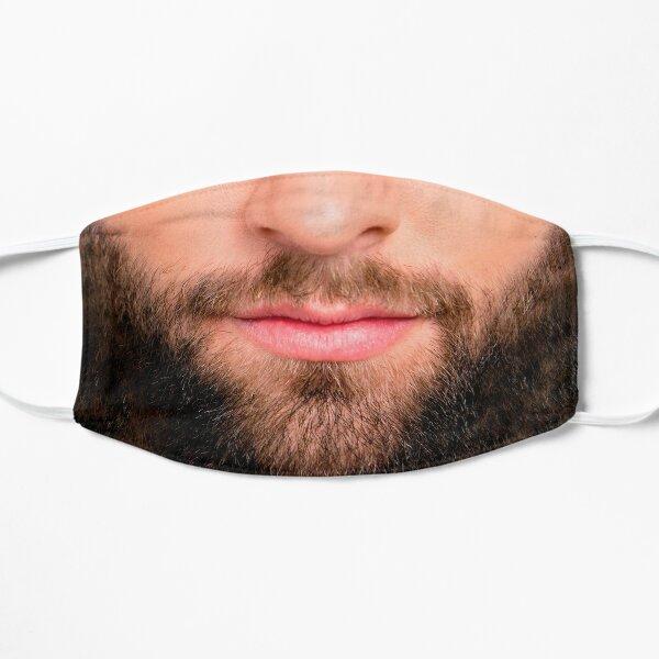 Handsome beard man mask (realistic face) Mask