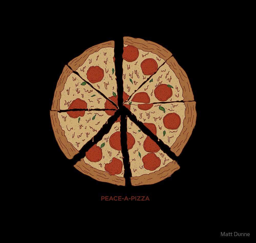 PEACE-A-PIZZA by Matt Dunne