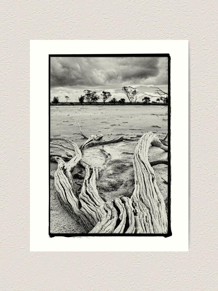Alternate view of Yenyenning Lakes Art Print