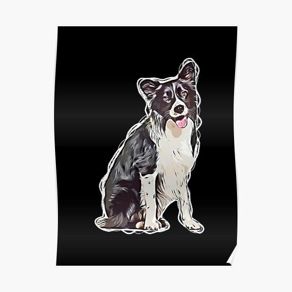 Border Collie Dog Motif 6 x 4 Picture Photo Frame Portrait Farmer Sheepdog NEW
