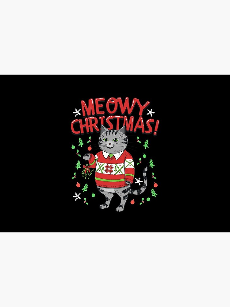 Meowy Christmas Cat | Vintage Kitty by Kittyworks
