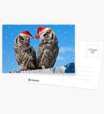 Twins' Christmas Postcards