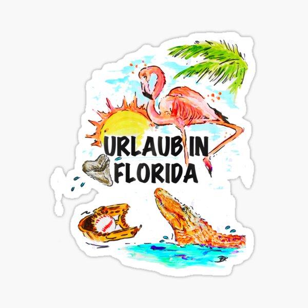 URLAUB IN FLORIDA Sticker