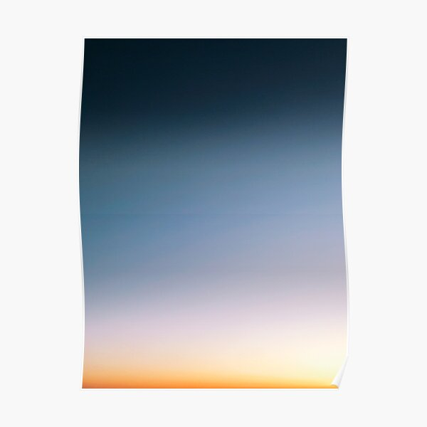 Sunset Gradient Poster