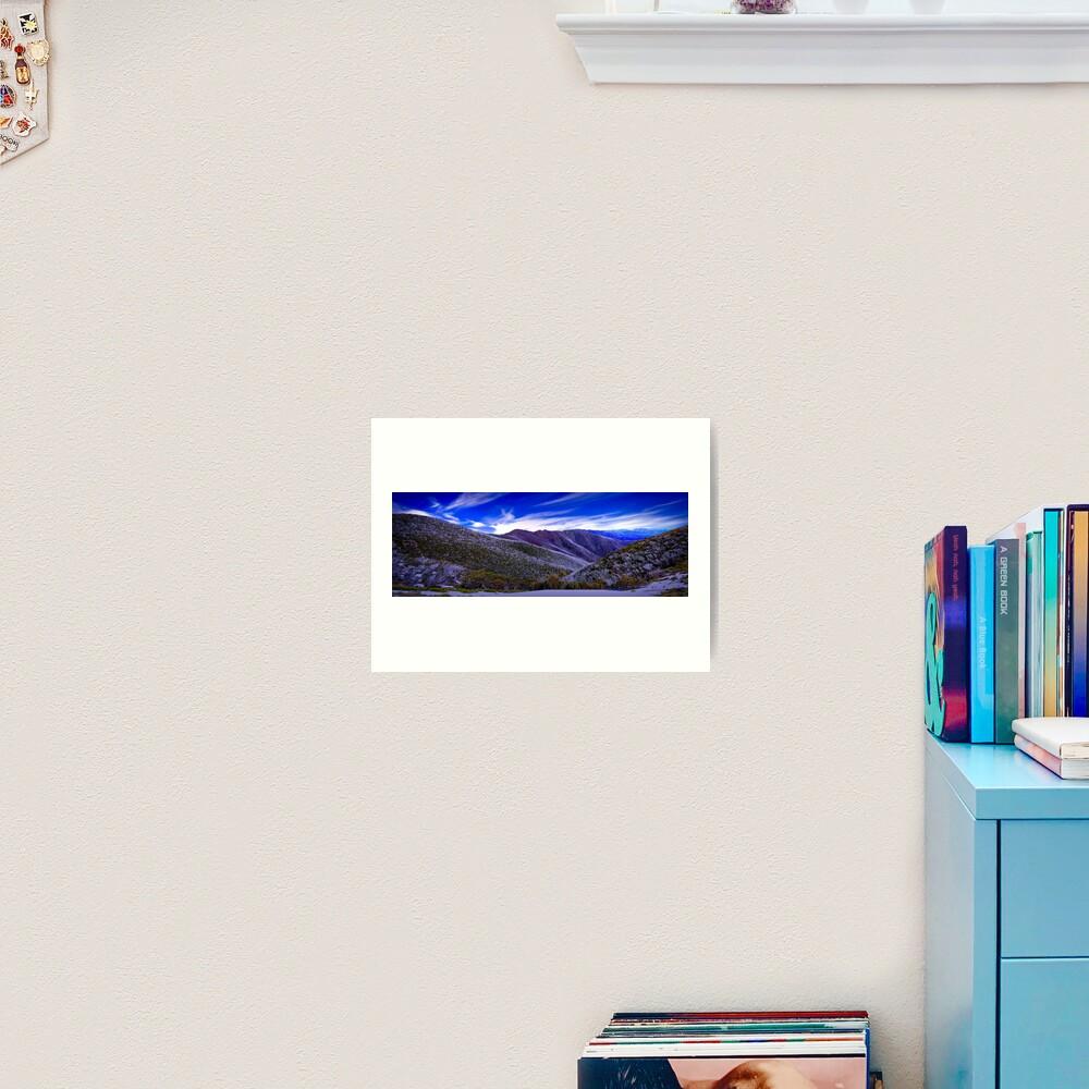 A View from Federation Hut, Victoria, Australia Art Print