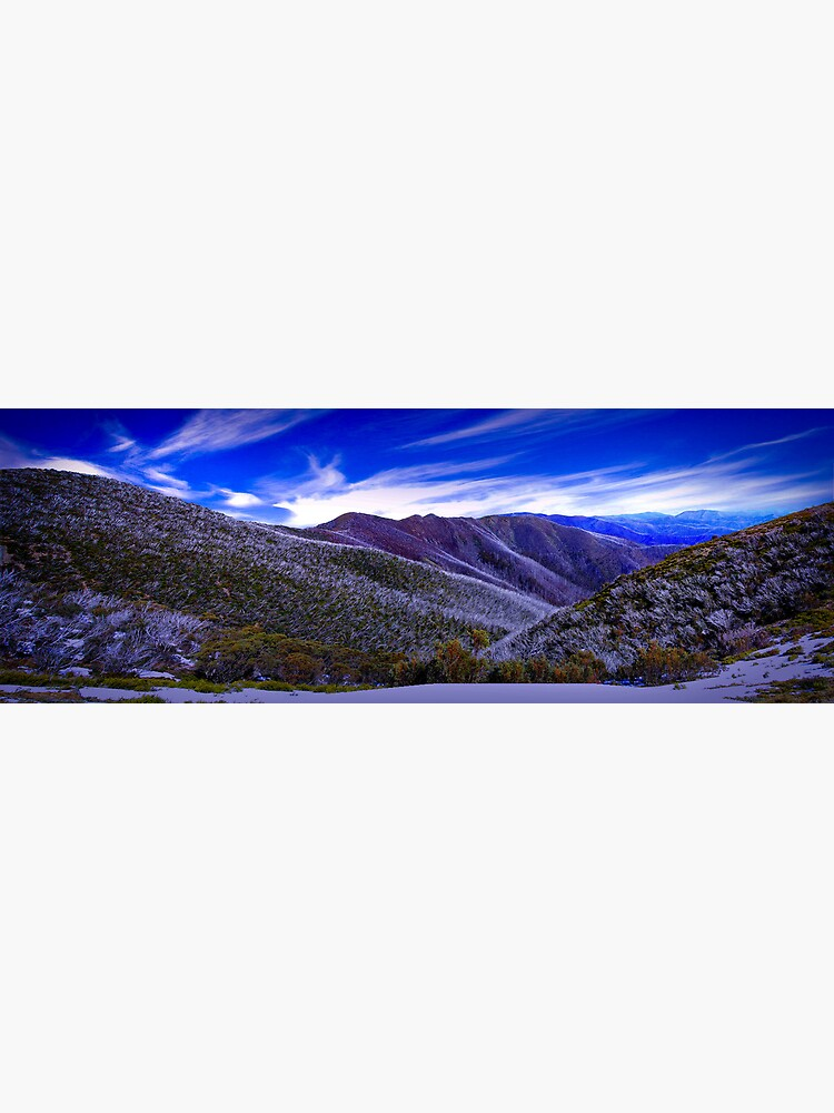 A View from Federation Hut, Victoria, Australia by JohnnyBullen