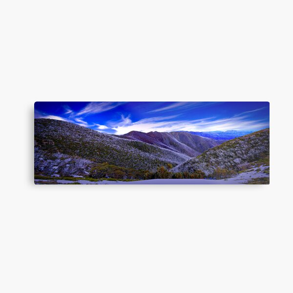 A View from Federation Hut, Victoria, Australia Metal Print