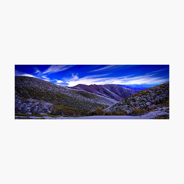 A View from Federation Hut, Victoria, Australia Photographic Print