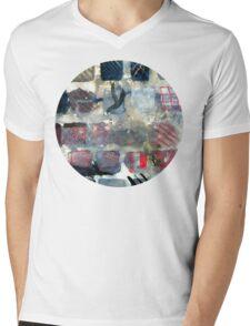Squares of experimentation Mens V-Neck T-Shirt