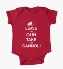 Leave the Gun, Take the Cannoli One Piece - Short Sleeve