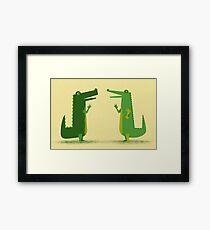 Later Gator Framed Print