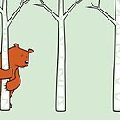 Shy Bear by andyjdufort