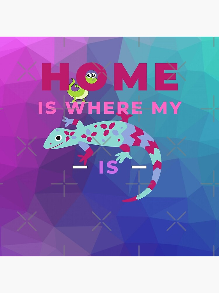 Home Is Where My Lizard Is by snibbo71
