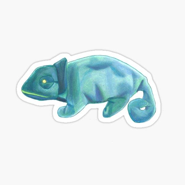 Rainbow the Chameleon Sticker