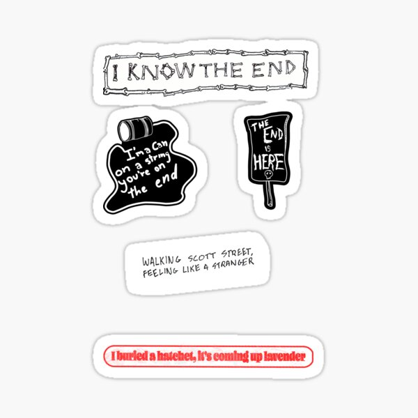 Phoebe Bridgers Sticker Pack Sticker