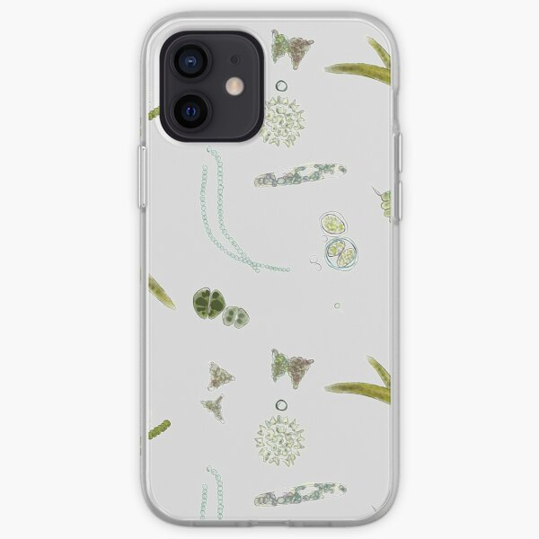 Algae Print iPhone Soft Case