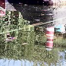 Reflections - Bondville Model Village harbour by technochick