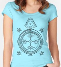 Magic Circle Women's Fitted Scoop T-Shirt