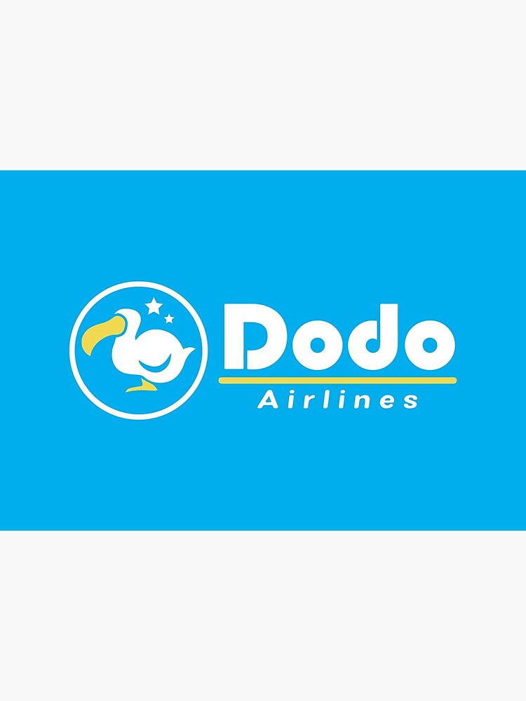 Dodo Airlines Logo by TheLaserGirls