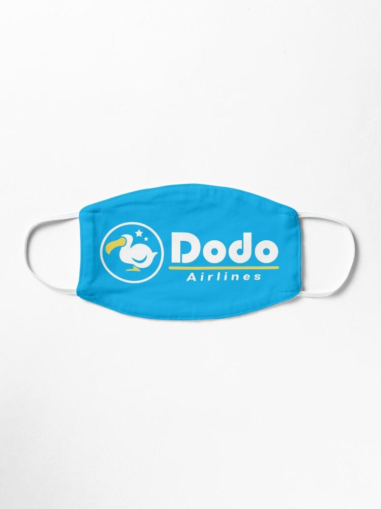 Alternate view of Dodo Airlines Logo Mask