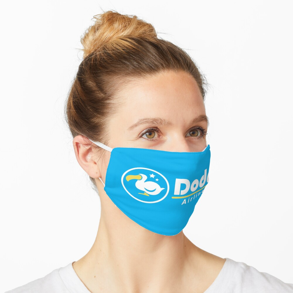 Dodo Airlines Logo Mask