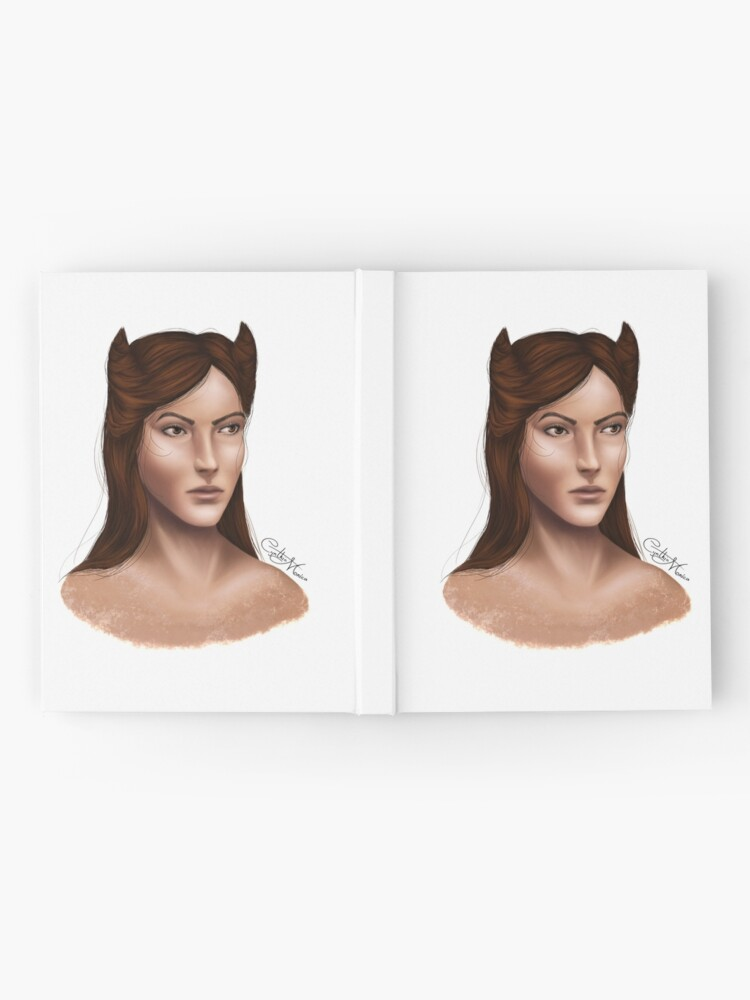 Alternate view of Portrait - Jude Duarte Hardcover Journal