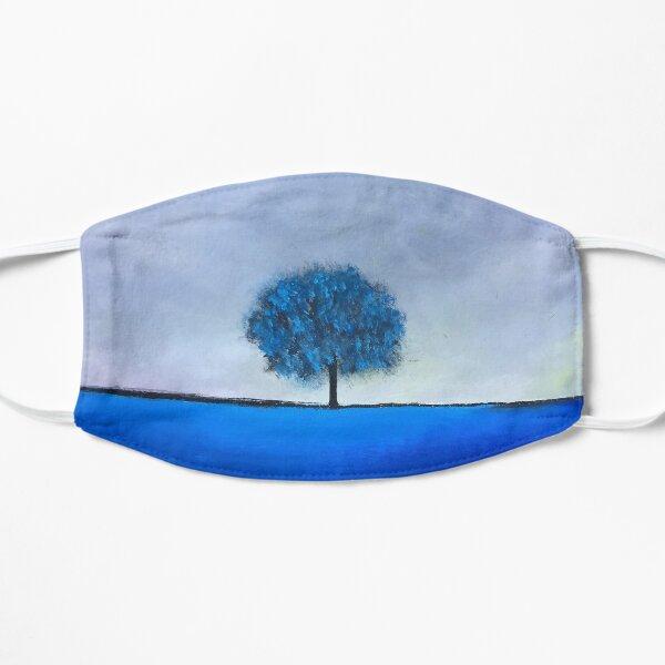 Arbre poésie bleu Masque sans plis