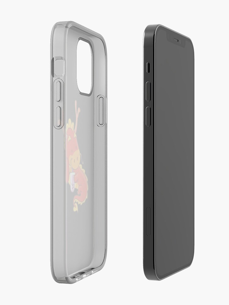Alternate view of Cute Boba Dragon iPhone Case & Cover