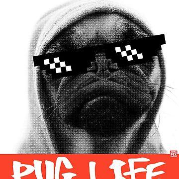 Pug Life by julcenei