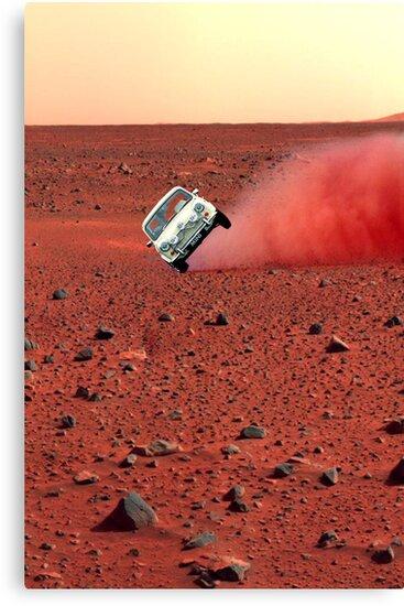 first wheelie on mars by sebmcnulty