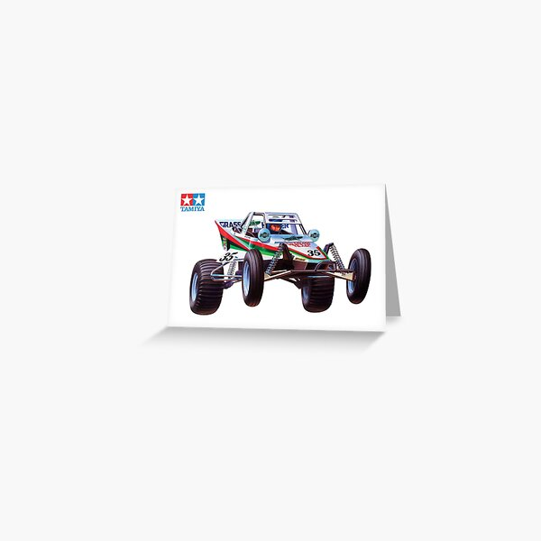 Retro RC Off Road Buggy 2 Greeting Card