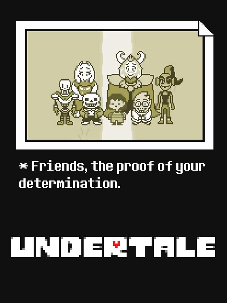 Undertale characters | Unisex T-Shirt