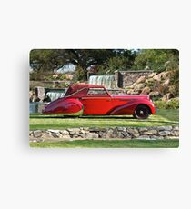 1947 Delahaye 135M Pennock Cabriolet I Canvas Print