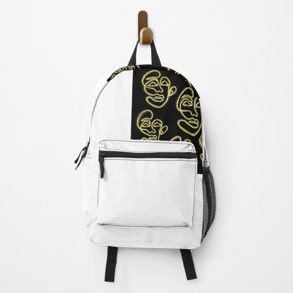 Neon Faces Backpack