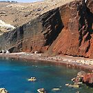 Red Beach by Barbara  Brown
