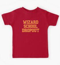 Wizard School Dropout Kids Tee