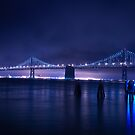 Bay Bridge Blue by dingobear
