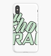 YOU SHOOT RAW iPhone Case
