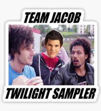 TEAM JACOB TWILIGHT SAMPLER Sticker