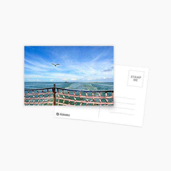 Hatteras-Ocracoke Ferry  Postcard