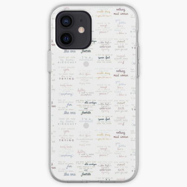 Folklore Sticker Pack iPhone Soft Case