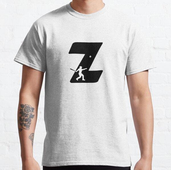Personalized Baseball Initial Z Classic T-Shirt