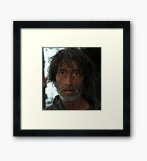 """I am meth""  Framed Print"